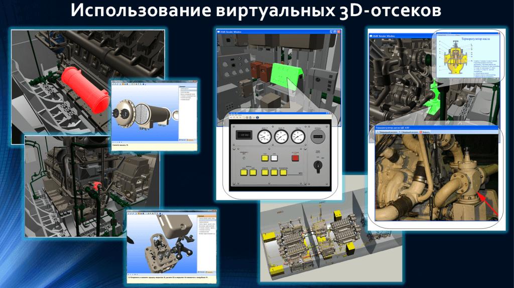 Виртуальные 3D-отсеки