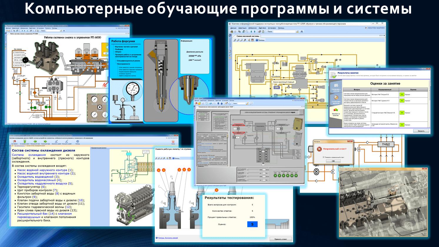 Компьютерные обучающие программы и системы